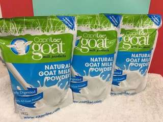 🚚 澳洲 CapriLac goat milk powder羊奶粉 1kg(袋裝)