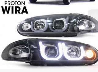 Wira projector headlamp Golf