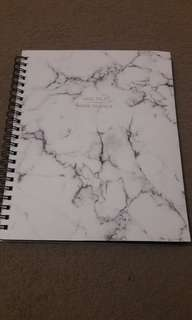 Marble 4 Subject Notebook