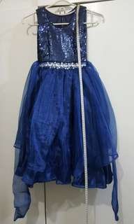gown for kids (midnight blue)