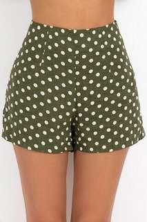 Dissh Polka Dot Shorts (size 6)