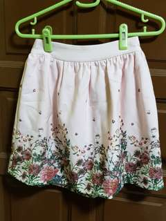 L'zzie Hello Kitty Floral Skirt