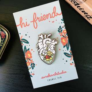 Grow From Within - hard enamel pin