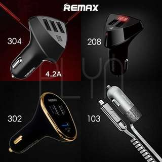 Fr $8 Remax Car Chargers Fast Charge Grab Taxi