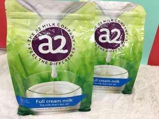 🚚 🐮紐西蘭A2 Full Cream milk 全脂奶粉 1kg (袋裝)