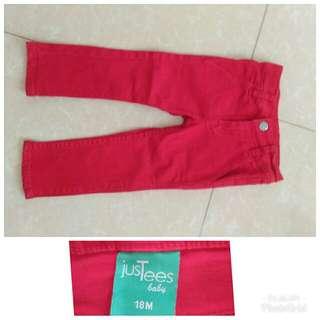 Justees baby pants