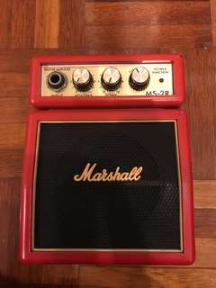 Mini Marshall Amp (reduced price)