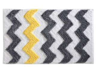 Brand New Chevron Bath Rug by InterDesign