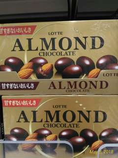 Almond and Macadamia Chocolates
