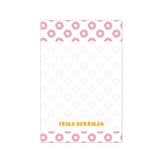 Personalized Notepads - Sweets Snacks Donuts