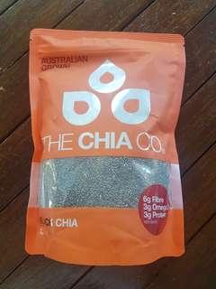 *LAST ONE*BNIP The Chia Co Black Chia Seeds 500g