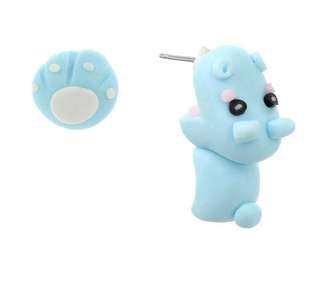 Cute Hippo Earring