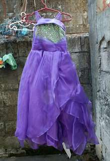 Gown 4 to 8 yrs old