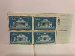 USA STAMP BLOCK 4 MINT