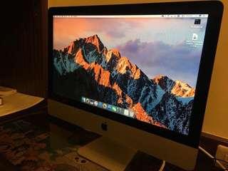 蘋果Apple i MAC 21.5英吋(幫家人代售,要出國急售,有喜歡都可議價)