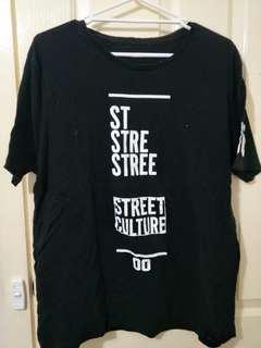 Street culture tshirt