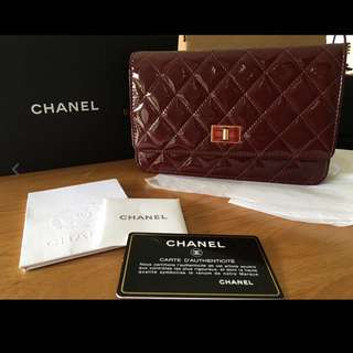 Authentic Chanel WOC Wallet on Chain
