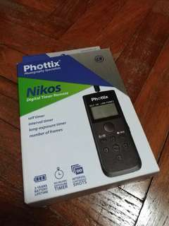 Phottix Nikos Intervalometer Remote (For Canon)