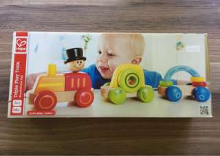 Hape triple train play