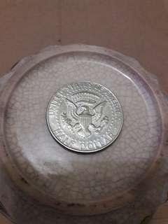 $0.5 coin John F. Kennedy