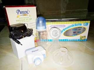 Pureen Breast Pump (Battery Operated with Adapter)