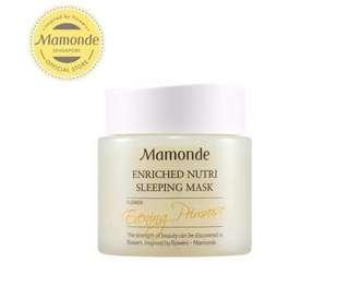 MAMONDE Enriched nutri sleeping mask flower evening primrose