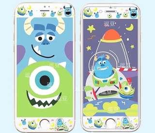 怪獸公司 大眼仔 毛毛 iPhone 手機屏幕保護貼