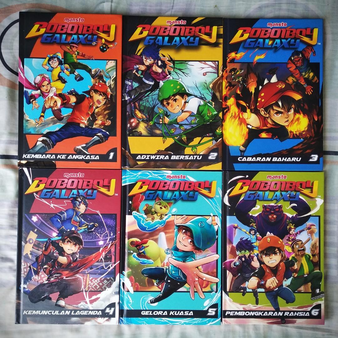 1 Set Boboiboy Galaxy Comic Books Stationery Comics Manga On