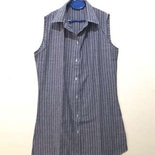 Dress Biru Mini