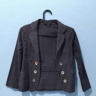 Blazer Strit Dark Grey