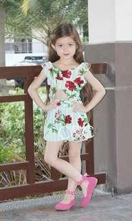 Leila Jumpshort for girl (2-10yo)
