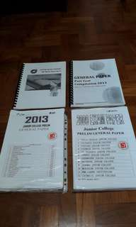 A level Notes And Past year papers