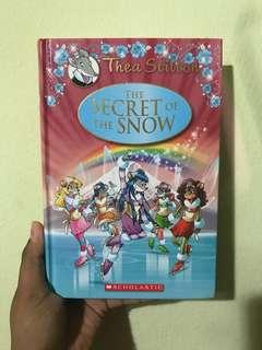 Thea Stilton The Secret Of The Snow