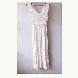 Zara lace maxi dress