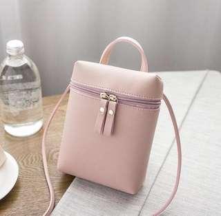 Brand new pink sling bag