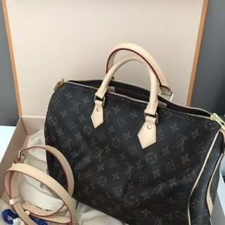 Louis Vuitton - Speedy 35 Bandouliere