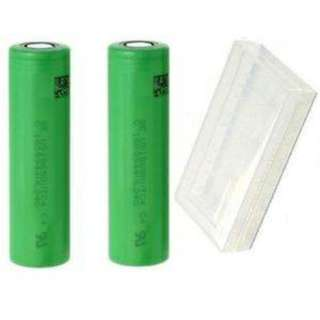 2 x Sony VTC4 18650 High Drain Replacement Lithium Battery