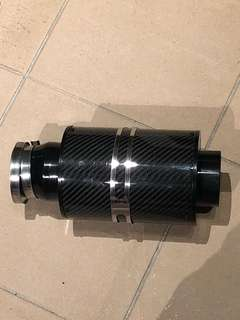 Carbon fibre air intake cone