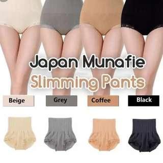 Munafie slimming Pant (Color : Beige, Black & Coffee Only)
