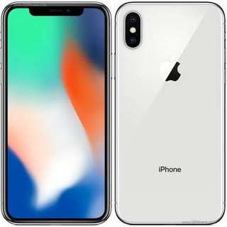 iPhone X 256gb Brand new Silver and Space Grey