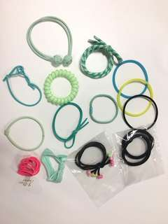 Hairband rubber band