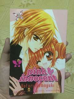 Comic Pink Innocent