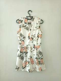 MAGS floral romper