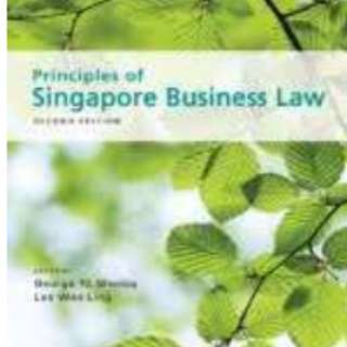 Principles of singapore business law notes