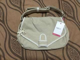 LEGIT KIPLING BAG - Limited Edition (Color: Dots Cream)