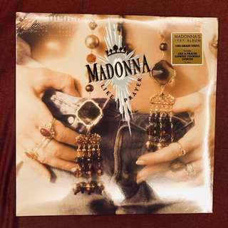 "NEW LP: Madonna ""Like A Prayer"" (180 Gram, US)"
