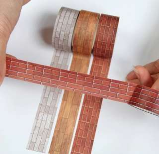 (PO) Brick and Tiles Washi Tapes