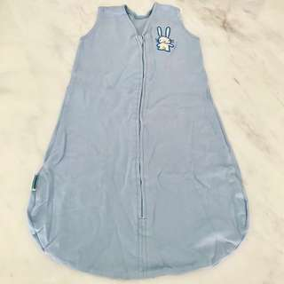 (Blessing with purchase more than $20) Preloved Lucky Baby Boy Sleeping Swaddle (Zip)