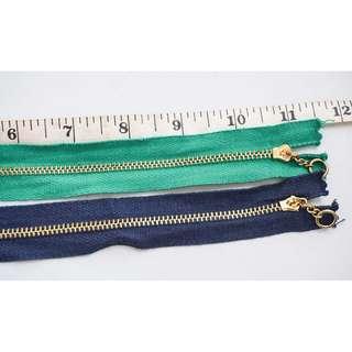 """YKK 11"""" Zipper"""