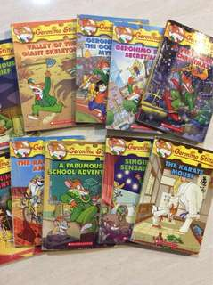 Geronimo Stilton #31-40